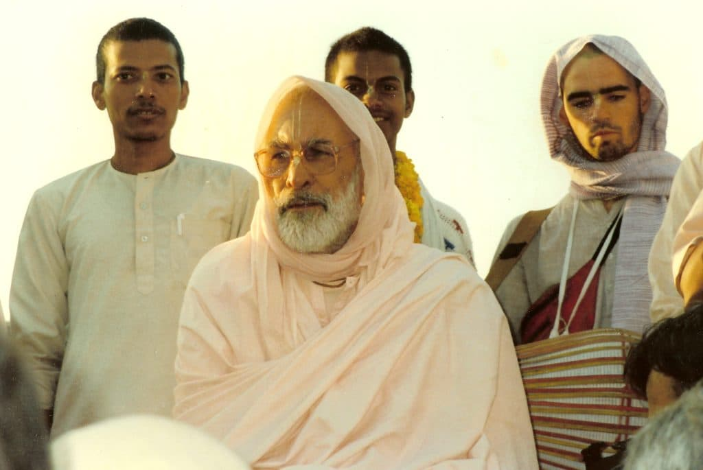 Гурудев Нараяна Махарадж Парикрама Вриндаван