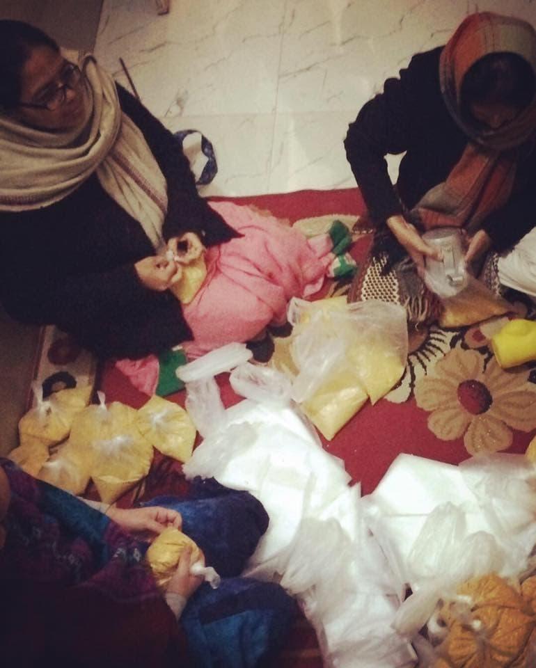МОЩНЫЙ СЕРДЕЧНЫЙ ОПЫТ – раздача подарков вдовам