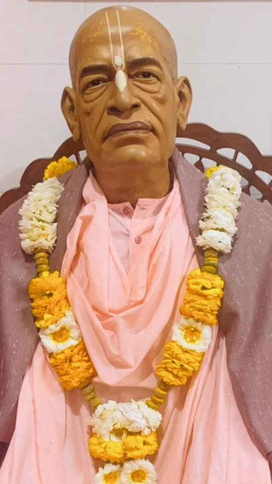 Свами Прабхупада В Радхе Кундже