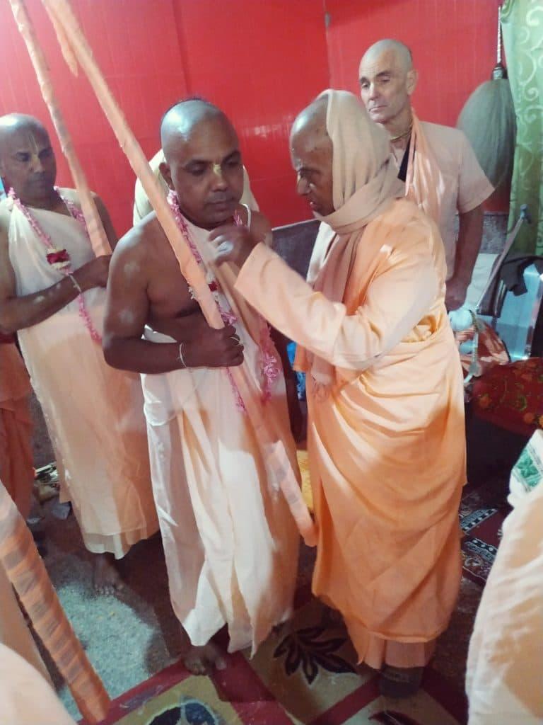 Тамал Кришна Брахмачари Санньяси