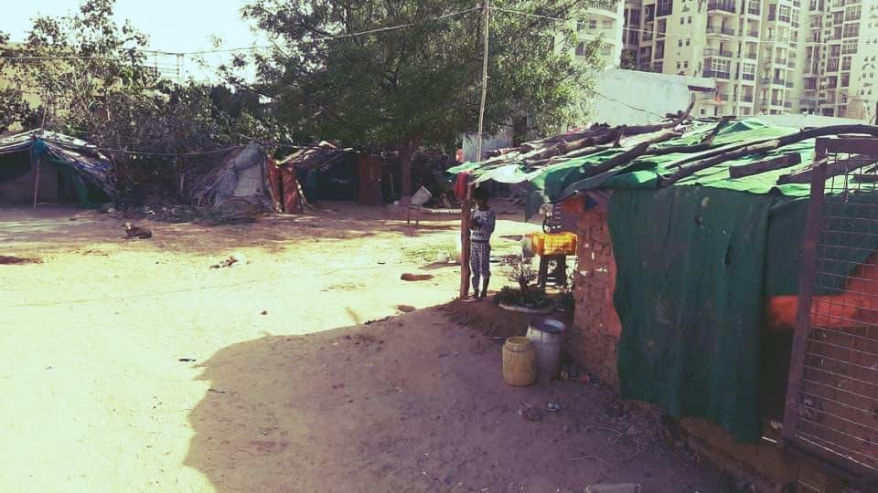 Прасад В Беднейшие Районы Враджа4