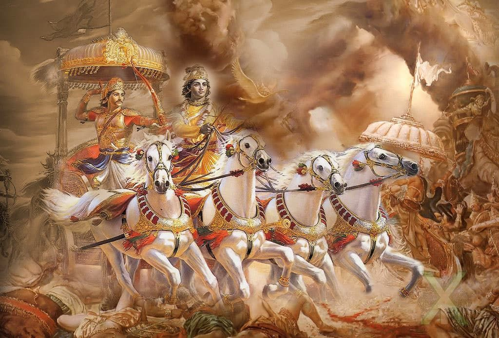 bhagvad gita Click here for your bhagavad gita starter kit bhagavad gita, chapter 3: karma-yoga everyone must engage in some sort of activity in this material world.
