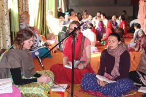 Даршан Прабхуджи В День Ухода Гурудева